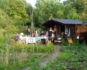 Diner op de tuin